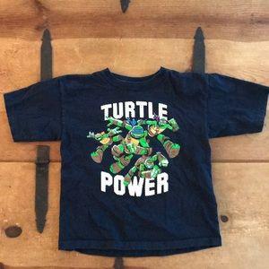 Teenage Mutant Ninja Turtles Boys Navy Tee Shirt